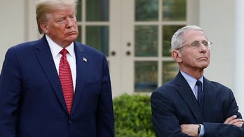 Trump spoke with Fauci after criticism from White House officials, source says
