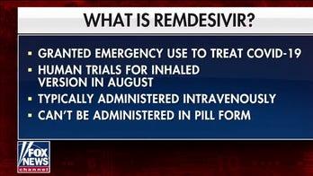Gilead to start testing inhaled version of remdesivir