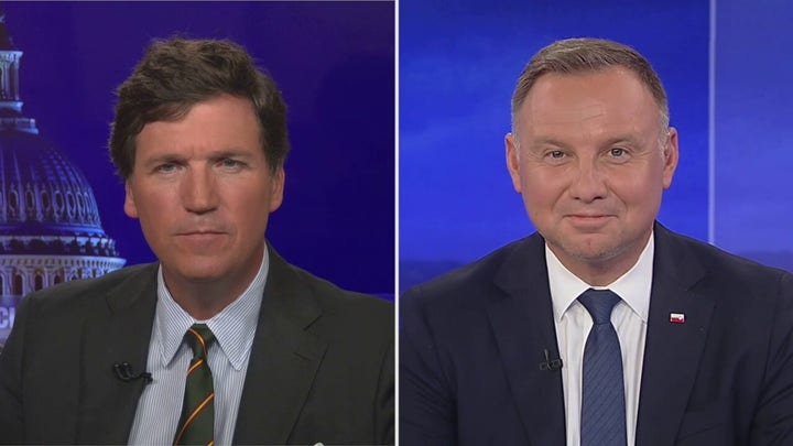 EXCLUSIVE: Tucker is joined by Polish president for bombshell interview
