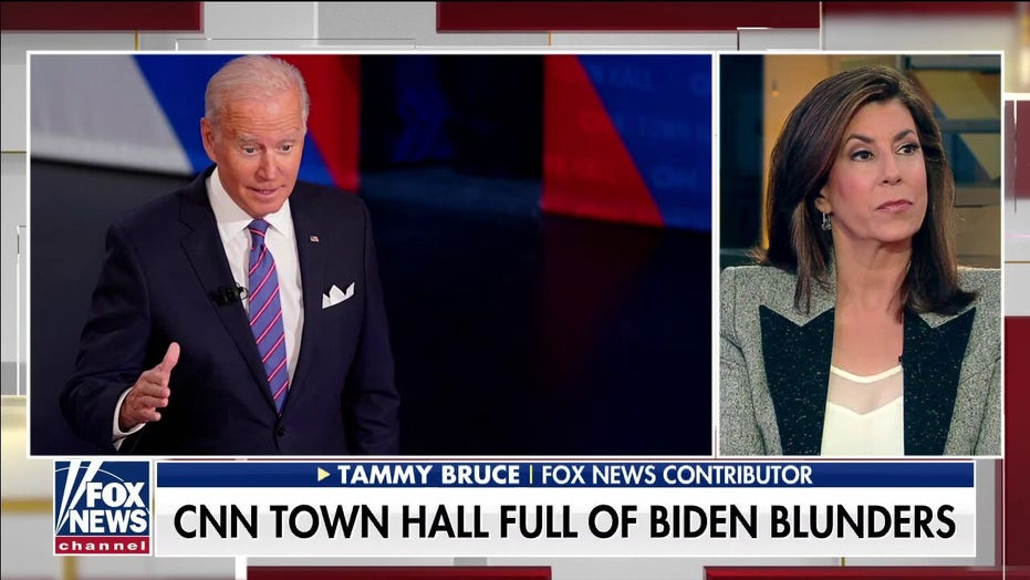 Tammy Bruce slams Biden's 'shocking' CNN town hall: 'It's as though he doesn't know he's president'