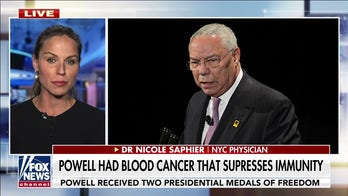 Dr. Saphier: 'Upsetting' to see Powell's death being used in COVID-19 vaccine debate