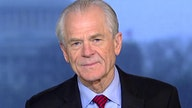 White House trade adviser Peter Navarro on trade deficit narrows for first time in 6 years