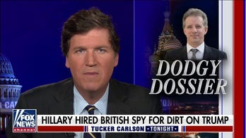 Tucker theorizes why Christopher Steele, who made lewd claims about Trump, is making a comeback