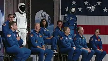 NASA astronauts prepare for launch from US soil