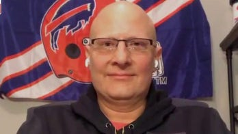 Buffalo Bills superfan celebrates beating cancer