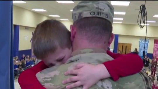 Celebrating military dads on Father's Day