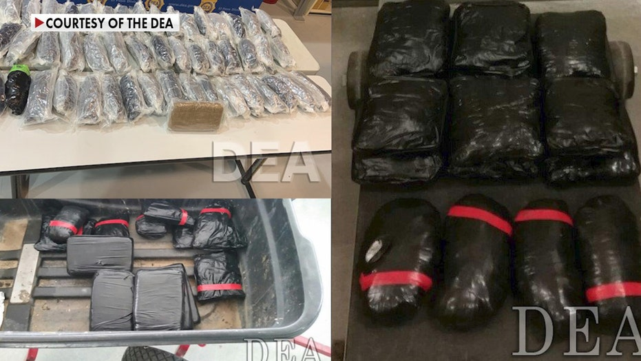 CBP shares images of massive meth hauls at border as seizures of the drug increase