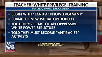 San Diego schoolteachers offered 'white privilege training'