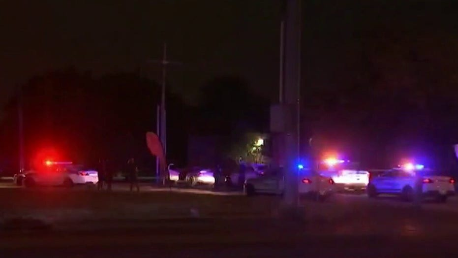 Two Oklahoma police officers in critical condition after being shot during traffic shop