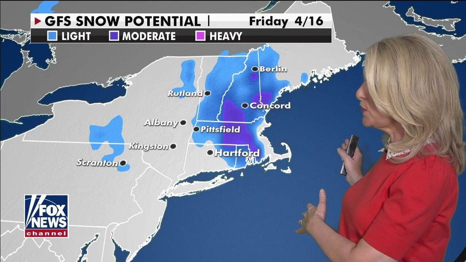 National weather forecast: Parts of Northeast could see more than a foot of snow