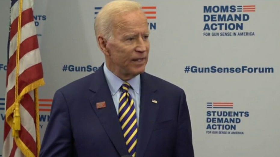 Joe Biden denies Tara Reade's sexual assault allegation