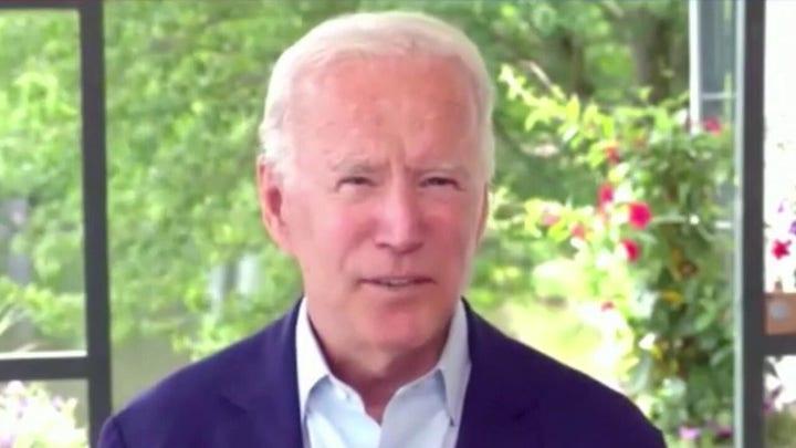 Joe Biden attacks President Trump over tweets, Russia