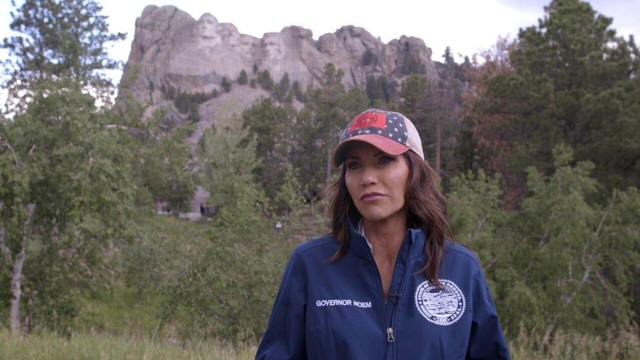 South Dakota Gov. Kristi Noem sends 50 National Guard troops to Texas to help tackle border crisis