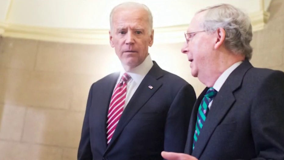 Joe Biden, Mitch McConnell have history of friendship