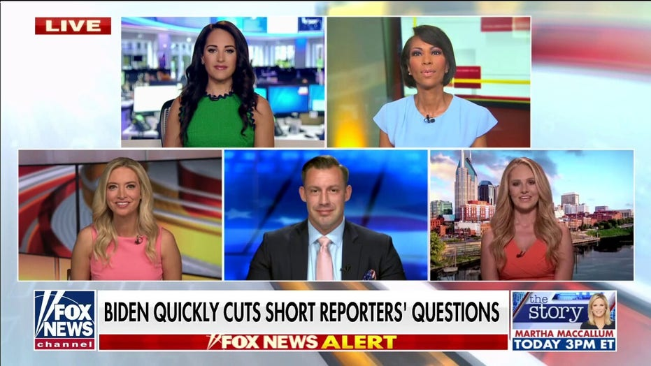 'Outnumbered' slams Biden for cutting reporters' questions short on Afghanistan: 'No excuse'