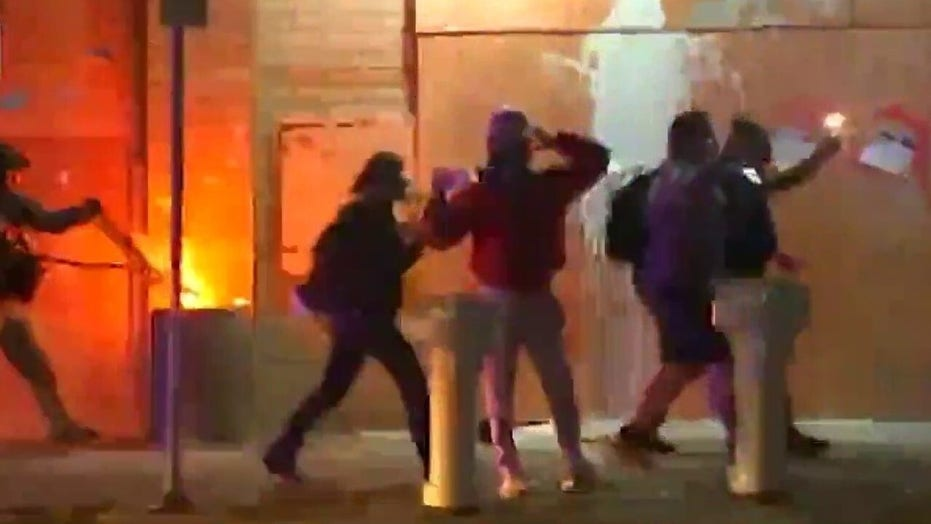 Violent protests resume in Portland, draw condemnation from local officials