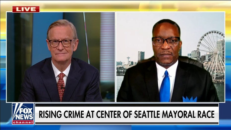 Seattle mayoral candidate nearly shot by thieves outside home, calls out city's police 'manpower' problem