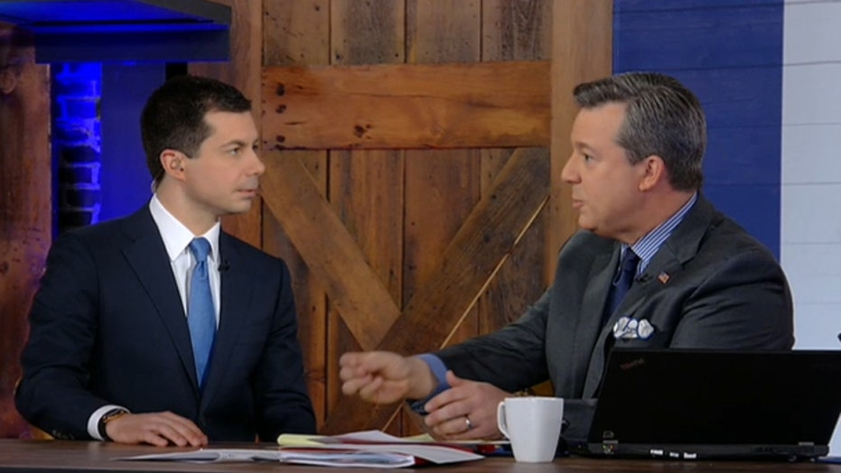 Ed Henry grills Pete Buttigieg on attacking Trump supporters & racism