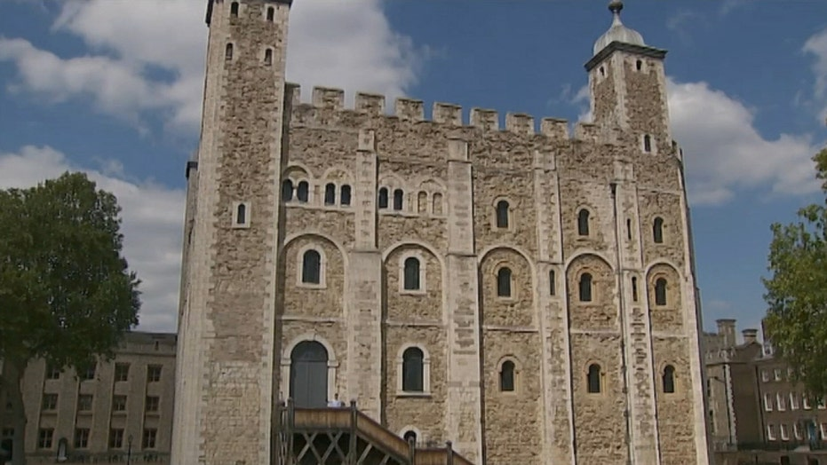 Exclusive look inside the Tower of London as it sits nearly empty due to the coronavirus lockdown
