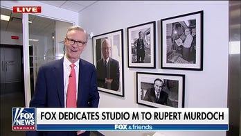 Fox News dedicates Studio M to Rupert Murdoch