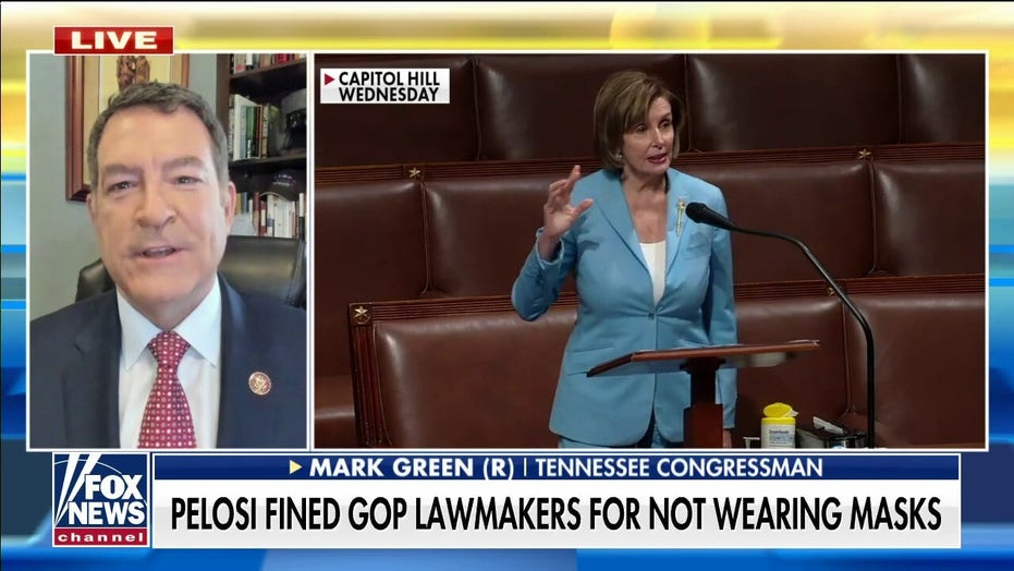 Rep. Green slams Pelosi's 'unscientific' mask rules: 'Definition of hypocrisy'