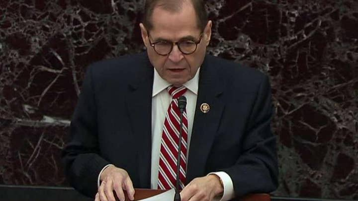 Jerry Nadler: President Trump withheld two official acts of immense value to secure 'favor' from Ukraine