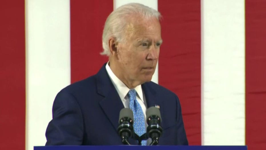 Biden: Much too early to make any judgement on polling data