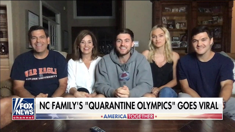 Family's 'Quarantine Olympics' videos rack up over 50 million views