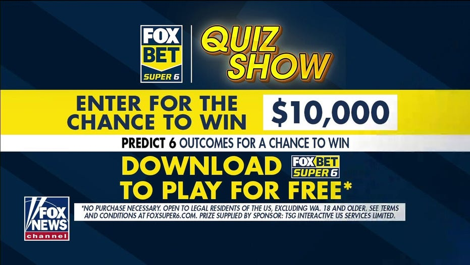 FOX Bet Super 6 'Quiz Show': Questions on The Masters, NASCAR and more for chance to win $10,000