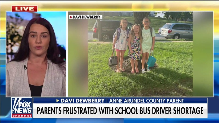 Maryland moms tell 'Fox & Friends' they're 'scrambling' as bus driver shortage causes 'chaos' for parents