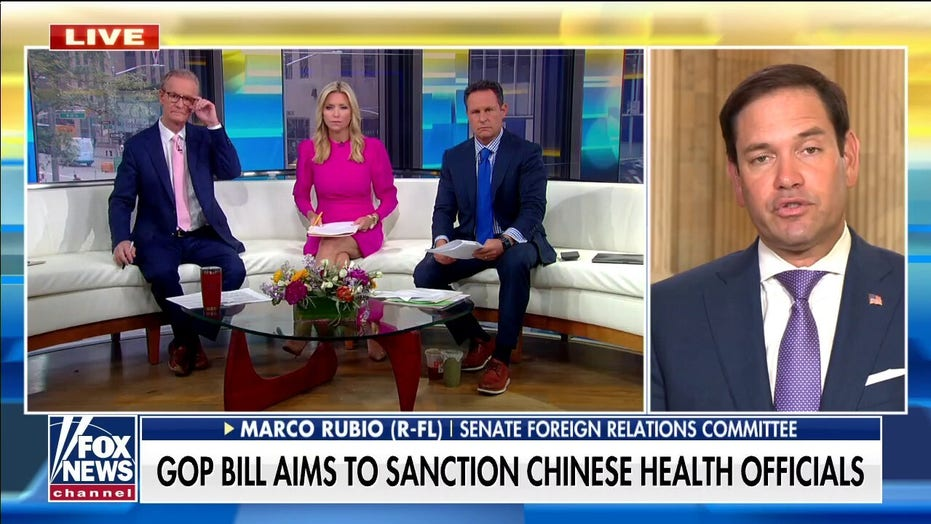 Rubio on GOP bill to sanction Chinese health officials: 'Next great pandemic' could be in China lab right now