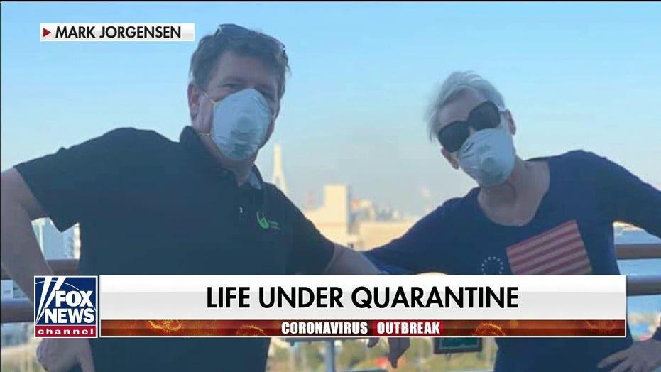 Former coronavirus patient Jerri Jorgensen describes life under quarantine