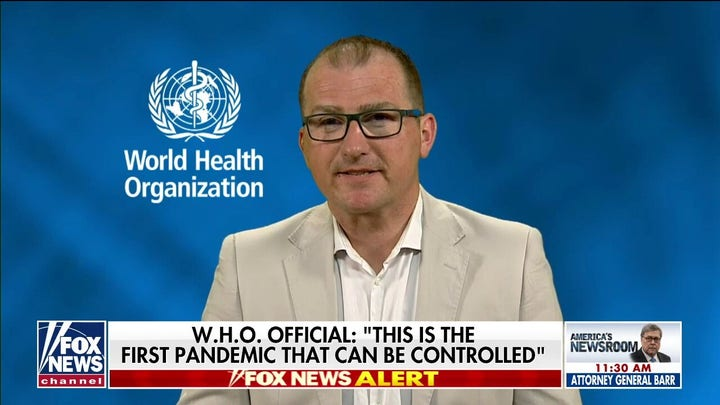 WHO Official: 80% of people who are infected with coronavirus will have a mild disease
