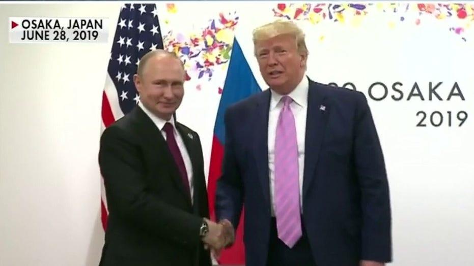 Trump slams Russia bounty reports as a 'hoax'