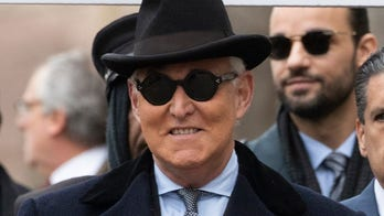 Roger Stone arrives in DC court for sentencing
