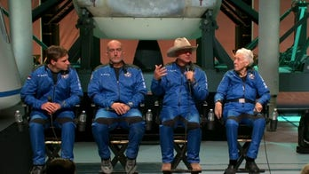 Billionaire Jeff Bezos successfully reaches the edge of space