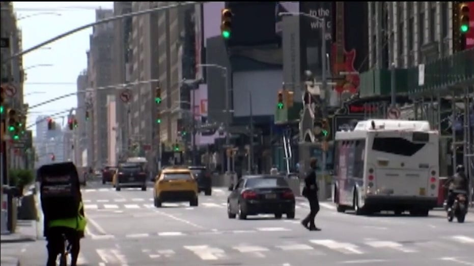 New York state partially reopens for business