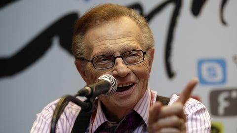 Nancy Grace remembers broadcasting legend Larry King