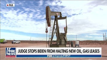 Biden stopped by judge from blocking gas, oil leases