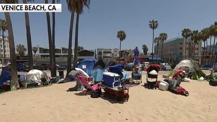 Venice Beach taken over by homeless encampments