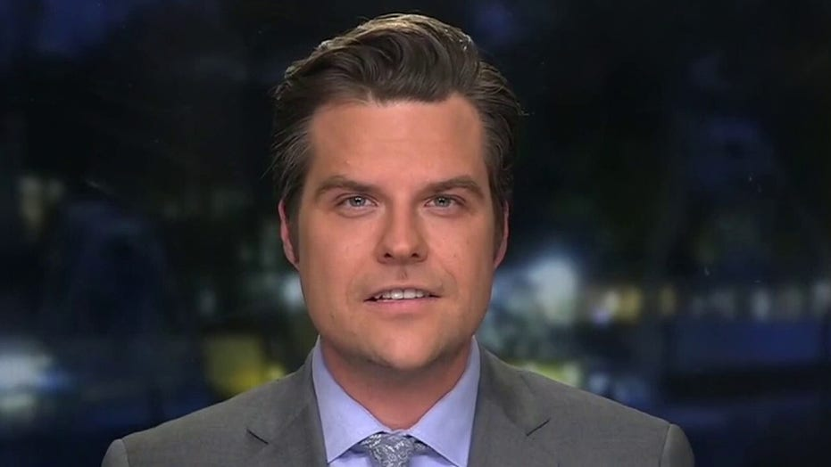 Gaetz responds to House Dems readying second Trump impeachment<br>