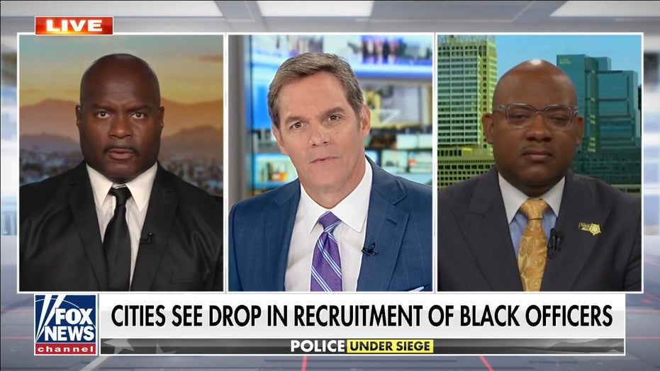 LAPD officer, FOP president say left's anti-cop vitriol to blame for drop in recruitment of Black cops