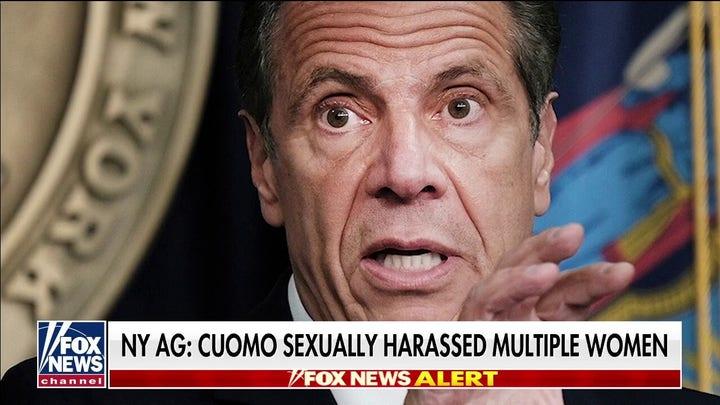 New York AG: Gov. Cuomo sexually harassed multiple women