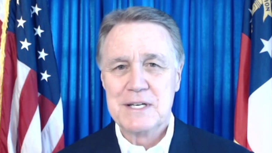 Sen. Perdue on high-stakes Georgia runoffs: 'These last three days are really critical'