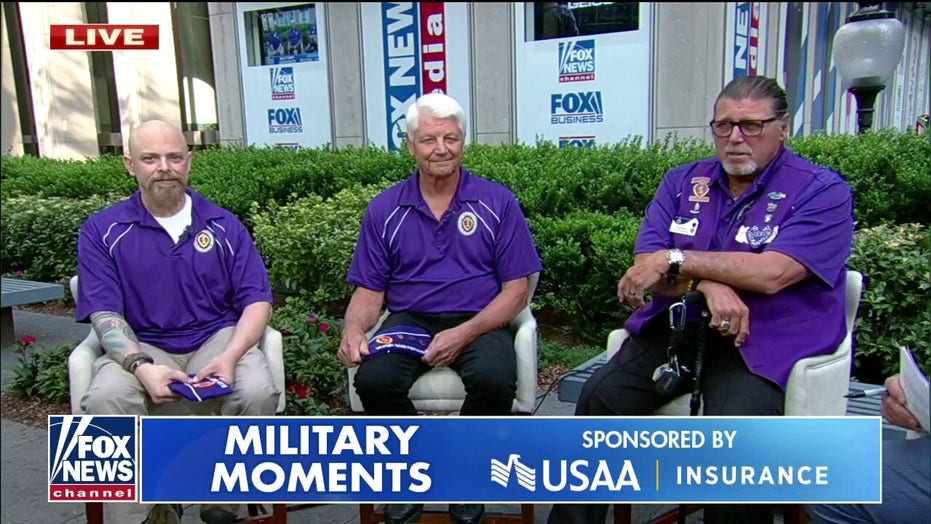Veterans share their stories on Purple Heart Day