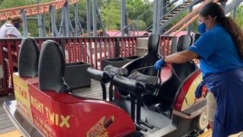 Amusement parks reopen amid Coronavirus Pandmeic