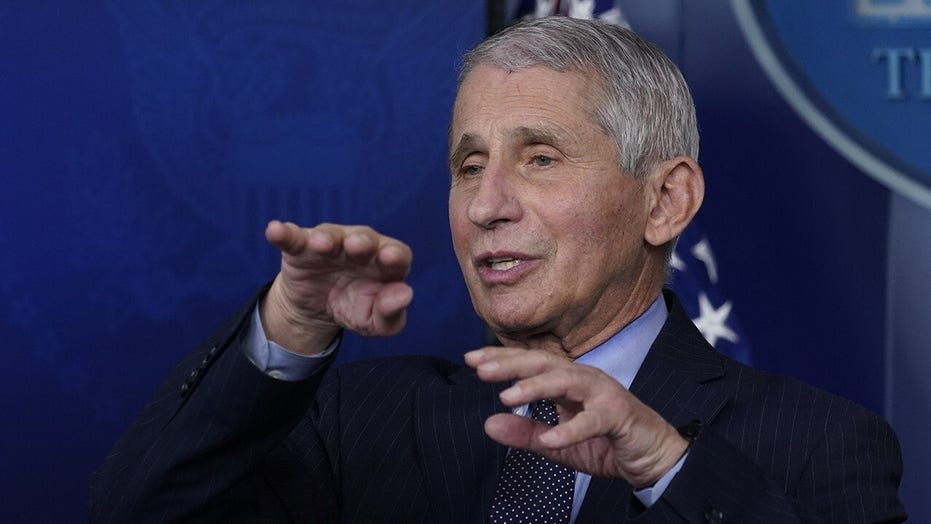 Fauci praises 'competent, trustworthy' Chinese scientists