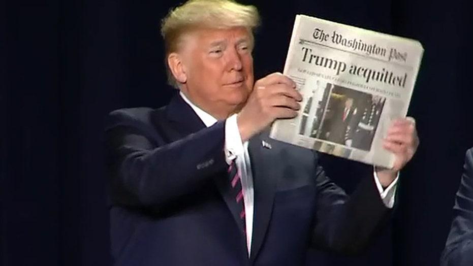 President Trump attends 68th annual National Prayer Breakfast