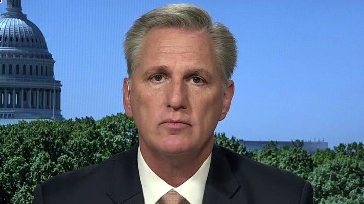 McCarthy blasts border crisis: 'Democrats ignore the problems they ignite'