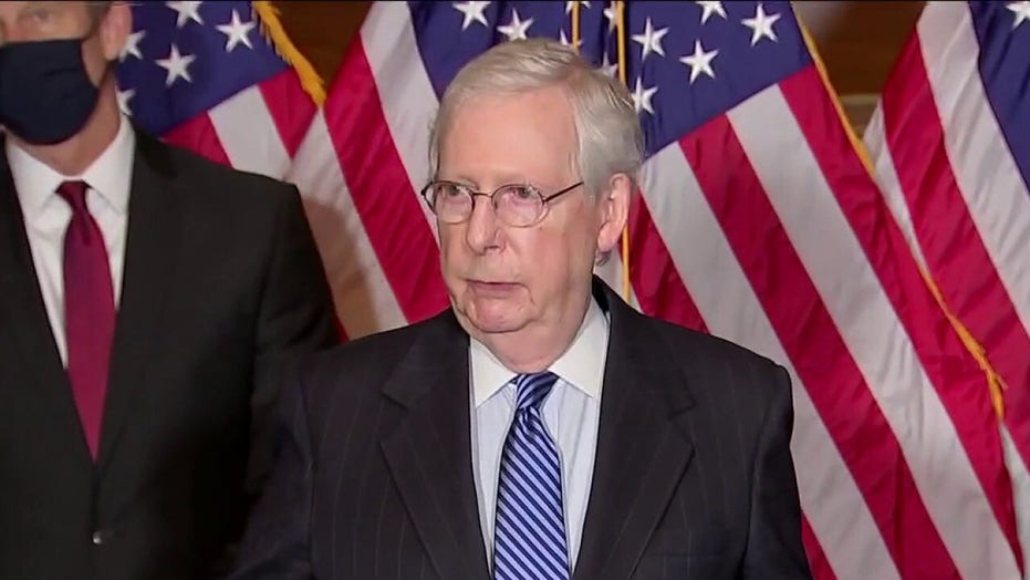 McConnell says 'no realistic path' for $2G stimulus checks, accuses Dems of 'trying to pull a fast one'